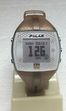 Polar FT4 Ladies Champagne w/Copper Stripe Watch Only NO HR Band Sml/Med Band