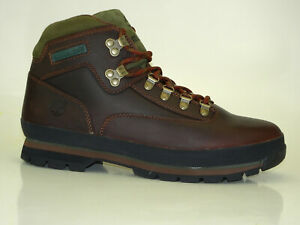 Timberland Euro Hiker Leather Boots Men Hiking Lace Up 95100