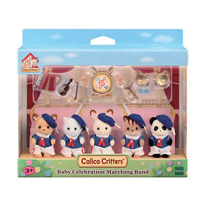 Calico Critters Baby Celebration Marching Band Set NEW IN STOCK