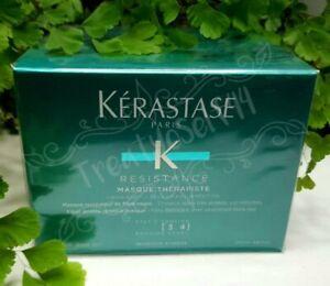 Kerastase Resistance Masque Therapiste Fiber Quality Renewal Damaged Hair 200ml