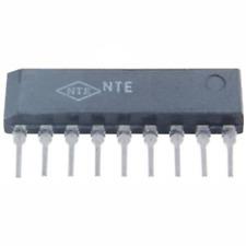 Nte Electronics Nte1610 Integrated Circuit Tv Vif Video Amp/Det/Agc 9-Lead Sip V