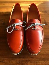 John Lobb Arima 6E Burnt Orange Dune Calf