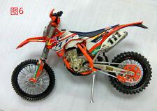 KTM No 111 Motorcycle Model  Dirt Bike Model 1:12