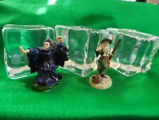 Lot of 3 Gelatinous Cube D&D miniature mini Dungeons Dragons Pathfinder 1.5""