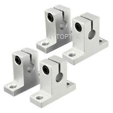 4pcs 8mm SK8 Bearing CNC Aluminum Linear Rail Shaft Guide Support US Seller