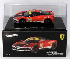 Hot Wheels 1/43 Scale Diecast X5506 - Ferrari 458 Challenge - Kessel Racing