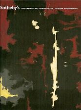 Sotheby's Sale NO8791 Contemporary Art Evening Sale LARGE Auction Catalog 2011
