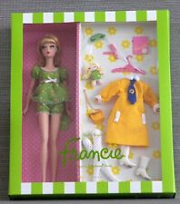 Beautiful Silkstone Nighty Brights Francie giftset Barbie NRFB Fashion Model