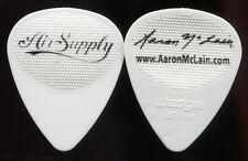 AIR SUPPLY 2011-2012 Tour Guitar Pick!!! AARON McLAIN custom concert stage Pick