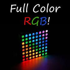 1pc 8x8 Matrix RGB LED; Common Anode Diffused Arduino Full Colour Arduino 1x USA