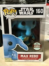 FUNKO POP MAX REBO STAR WARS #160 SPECIALTY SERIES EXCLUSIVE AUTHENTIC NEW BOX