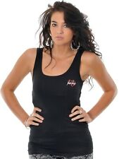 Metal Mulisha Ladies Kiss Kiss Tank Size XS Black
