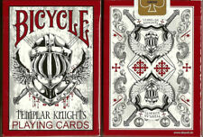 Templar Knights Bicycle Poker Playing Cards