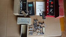 VTG Greist & New Home Buttonhole Sewing Machine Attachments & Parts Booklet Lot