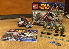 LEGO Star Wars 75035 Kashyyyk Troopers Complete w/ Box Manual & Mini-Figures