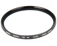 Bower 72mm UV Filter for Sigma 18-300mm F3.5-6.3 Lens & Sigma 18-35mm F1.8 Lens