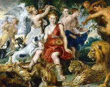 Coronation Of Diana Rubens Renaissance Print CANVAS Print Giclee Repro Poster SM