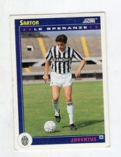 figurina card - CALCIATORI CARD SCORE 1993  - numero 464 JUVENTUS SARTOR