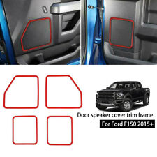 Dashboard Side meter Chrome Cover trims Kit for 2015 2016 2017 2018 Ford F150 F2