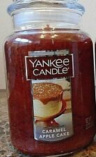 Yankee Candle  Caramel Apple Cake   22 oz. 1 Single  NEW  Free Shipping