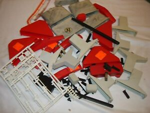 Model Motoring Assorted accessories mostly bridge parts for 1/32 slot cars