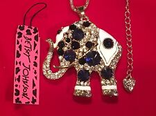 Beautiful Circus Elephant - Betsey Johnson Fashion Jewelry - USA Seller