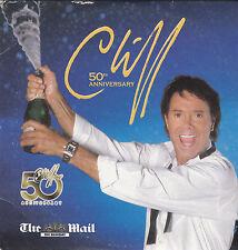 CLIFF RICHARD 50th Anniversary -12 Track Promo CD Album