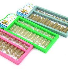New Plastic Abacus  Arithmetic Soroban School Maths Kids Calculating Tool Toy BD