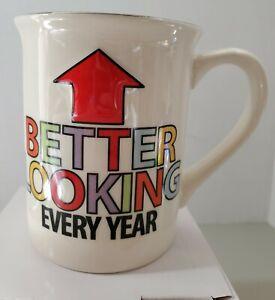 Middle Aged Birthday Mouth Mug Stoneware Coffee Mug, 16 Oz. Cups Mugs Mud