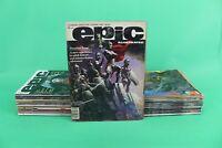 EPIC ILLUSTRATED STAN LEE ED. LINGUA INGLESE 1/34 OTTIMI DREADSTAR [Y50-003]