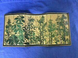 Dollhouse Miniature Picture of a 17th Century Japanese Screen