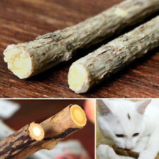 Pet Product Cat Natural Catnip Stick  Cleaning Teeth Molar Toothpaste Toy Snacks