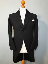 (045) Vintage mens 1940's WW2 morning coat / tails / tailcoat size 36