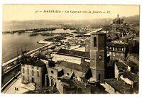 CPA 13 Bouche-du-Rhône Marseille Vue Générale vers la Joliette