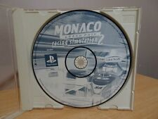 Monaco Grand Prix Racing Simulation 2....PS1 Game..(Free Post AU)- DISC ONLY