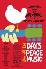 Woodstock Red Music Festival Poster 24