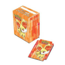 Ultra Pro Pokemon XY FENNEKIN RED Card Deck Box w Dividers