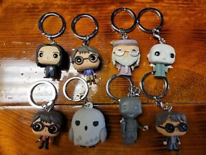 Funko! Harry Potter Lot Of 8 Keychains