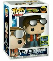 Marty Checking Watch Funko Pop SDCC 2020 Shared Exclusive iN STOCK