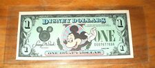 "1988 DISNEY DOLLAR - $1. Mint Condition - MICKEY SERIES ""D"""
