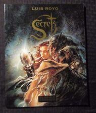 1996 Secrets by Luis Royo Sc Vf- 7.5 Nbm