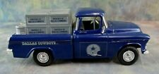 Vintage Dallas Cowboys Chevy Truck Die Cast Metal Bank ERTL