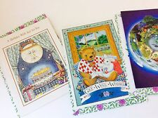 Vintage Greeting Card, Set of 4 Cards & 4 Floral Envelopes - Friend - Get Well -