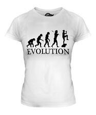 Aerobics Evolution Ladies T-Shirt Tee Top Gift Exercise Step