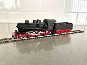 Rivarossi 1133 4 Marklin AC HO FS Italian 623 114 Franco Crosti Steam Locomotive