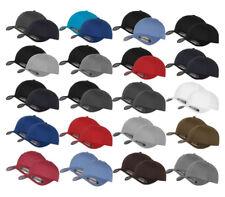 2er ORIGINAL FLEXFIT® CAP BASEBALL CAPS graue Unterseite S M L XL XXL BASECAP