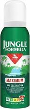 1x Jungle Formula Maximum Insect Repellent Spray with DEET, 125 ml