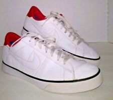 nike men's size 13 athletic shoes White/Red 2012