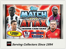 2012-13 Topps Match Attax Premier League Soccer Loose Packs Unit of 24 packs