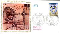 2272+ FDC  ENVELOPPE 1er JOUR  CEF    CONVENTION DE PARIS POUR LA PROTECTION